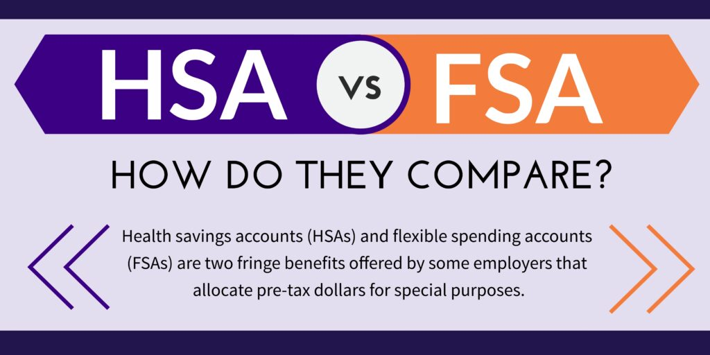HSA vs FSA infographic